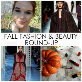 Today's post is a fall fashion & beauty extravaganza! fbloggers bbloggers