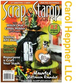 Check out my Halloween cover: cardmaking NationalPumpkinDay DIY