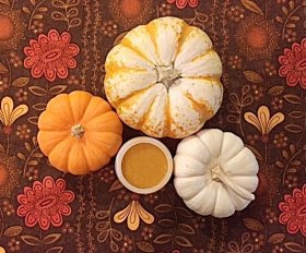 Indulge in a pumpkin facemask DIY Beauty recipe selfcare kitchenwitchery