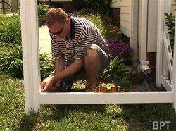 Backyard trends: Save money installing your own vinyl fence. homeimprovement