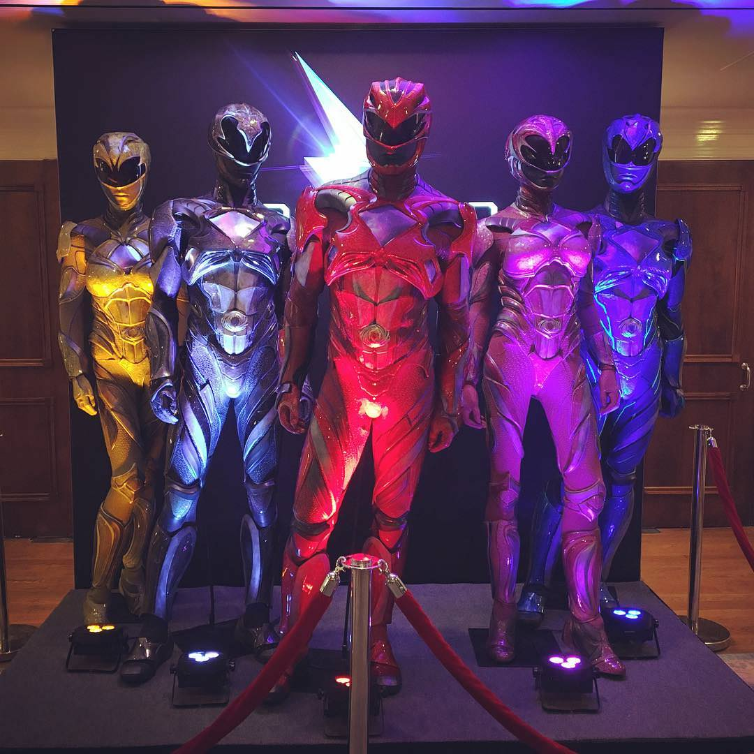 New Look At Power Rangers Costumes