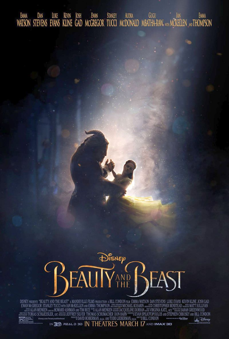 Beauty and the Beast Poster Unveiled