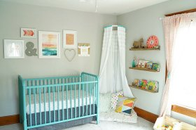 Easy DIY Children's Bookshelves: decor diy