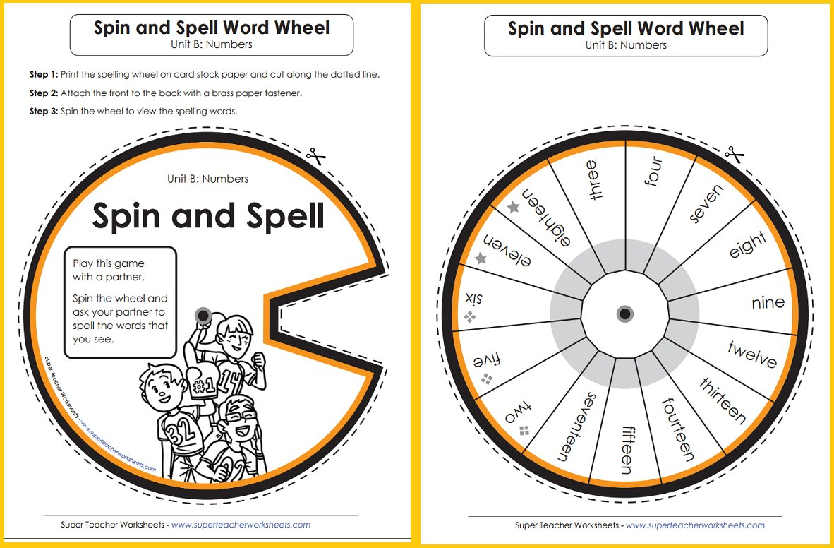 Superteacherworksheets On Twitter Try Out Spelling Word