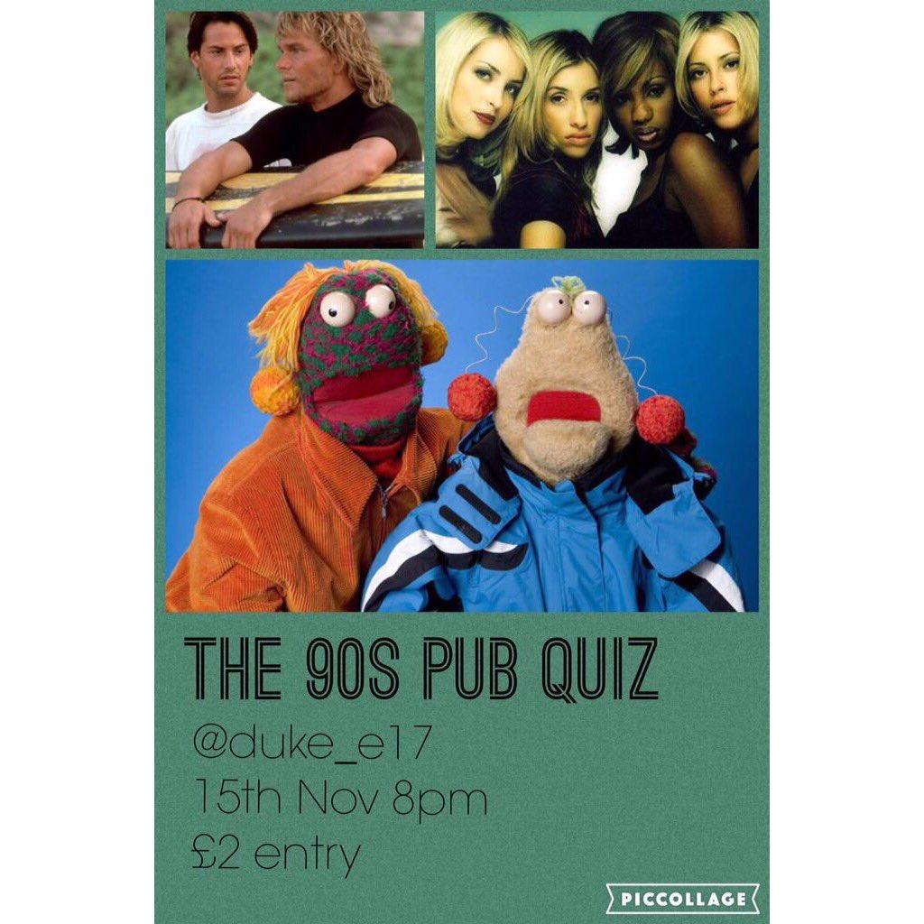 The 90s Pub Quiz The90spubquiz