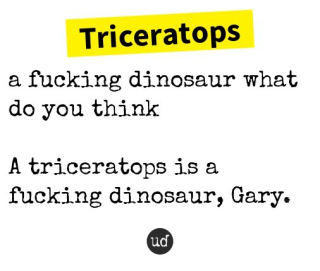 Urban Dictionary On Twitter The Triceratops A Sex Position