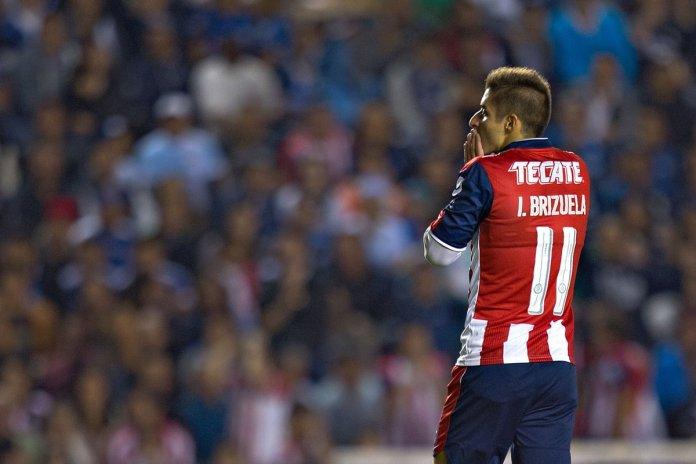 Brizuela entró de cambio en la Final de la Copa MX 2016.