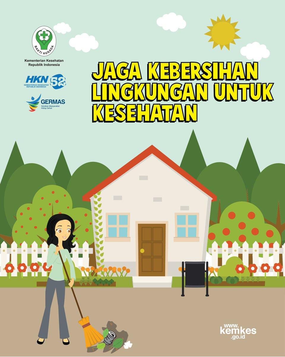 Gambar Animasi Kegiatan Kebersihan Dalam Lingkungan Sekolah