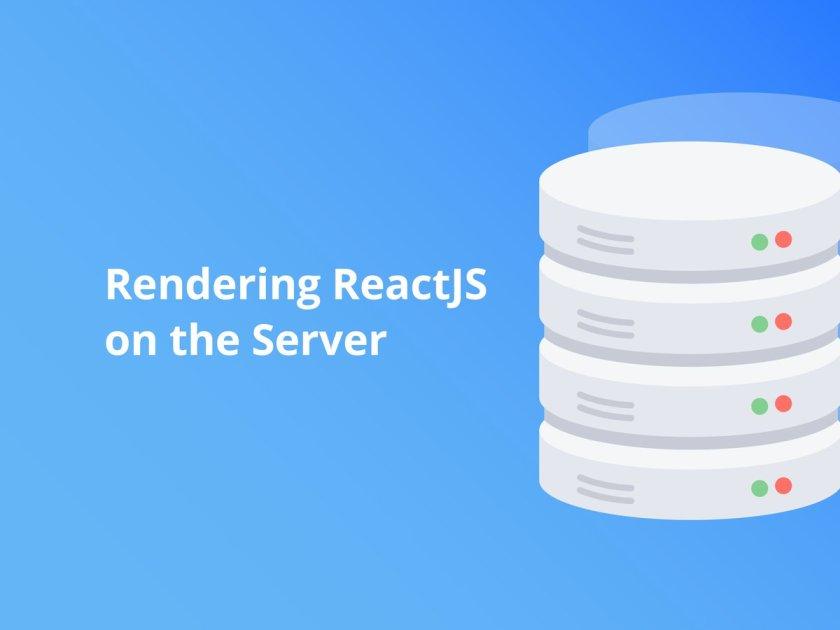 Rendering #ReactJS on the Server has a few benefits 🌟👉  #JavaScript #WebDev #Programming