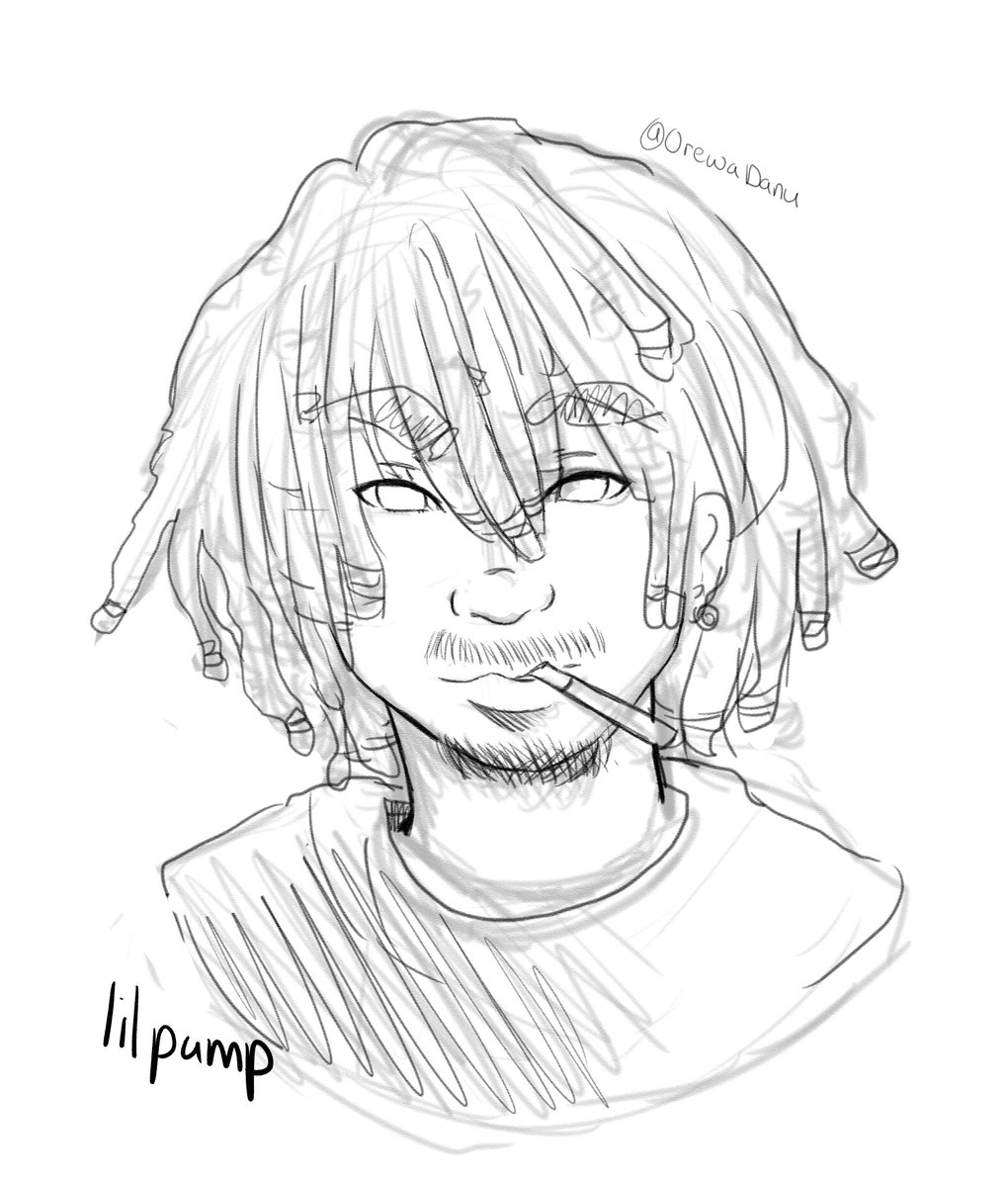 lil pump coloring pages | Lil Pump Coloring Pages Pictures to Pin on Pinterest