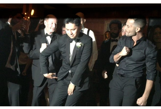 Tony Reali on Twitter My wedding gift to PabloTorre the pop  lock scene from Wolf of Wall