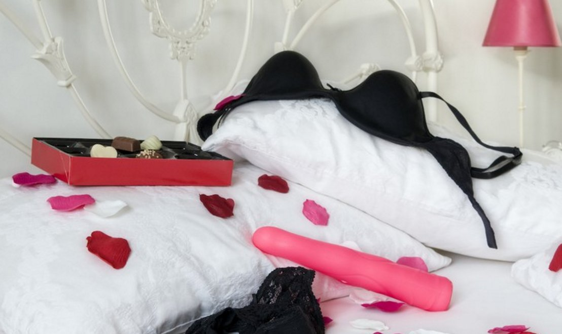 Image result for sex toy on a bed