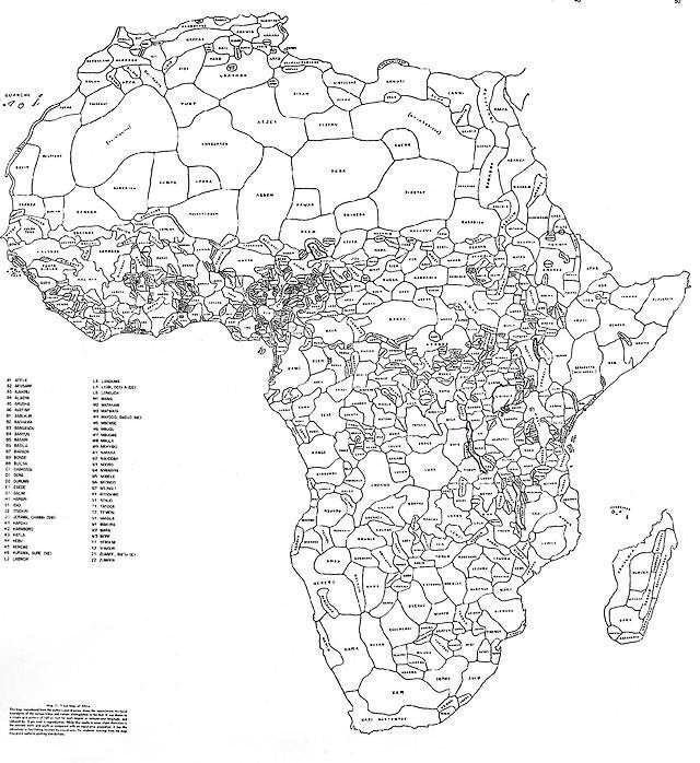 If Africa's borders looked like ethnic groups, it would