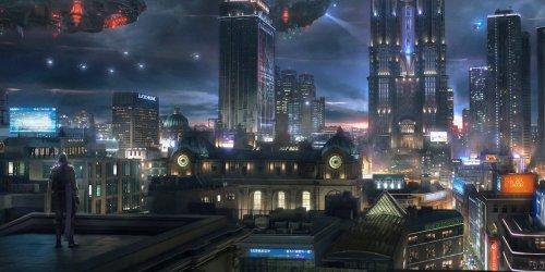 Concept Art Fantasy City 5