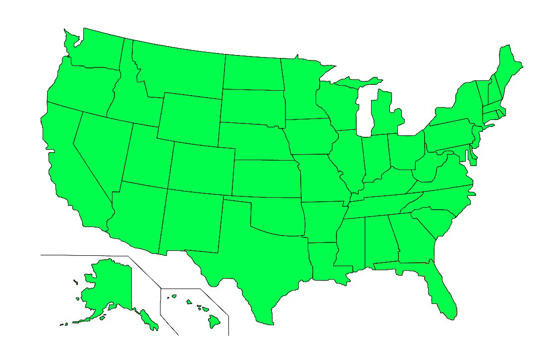 Every U.S. State Where Weed is Legal #USA #states #legalization #marijuanalaw