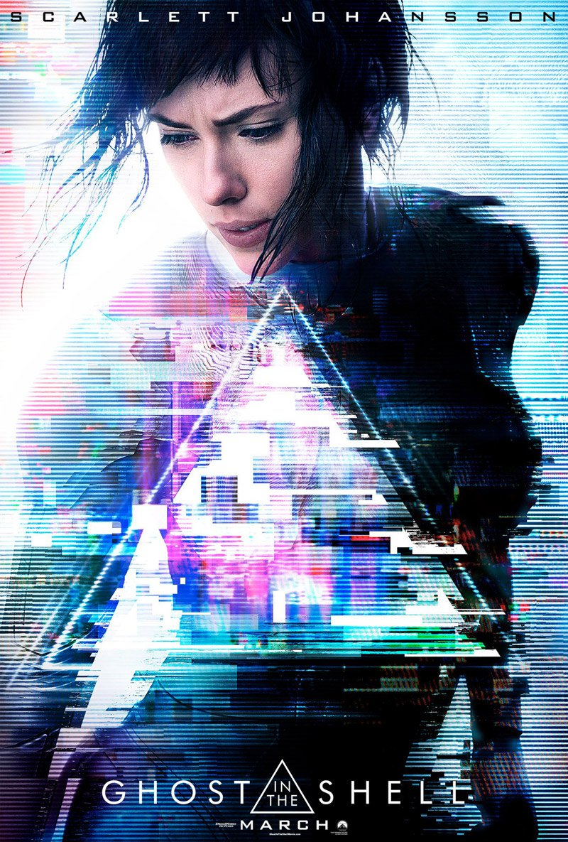 Ghost in the Shell Poster Featuring Scarlett Johansson