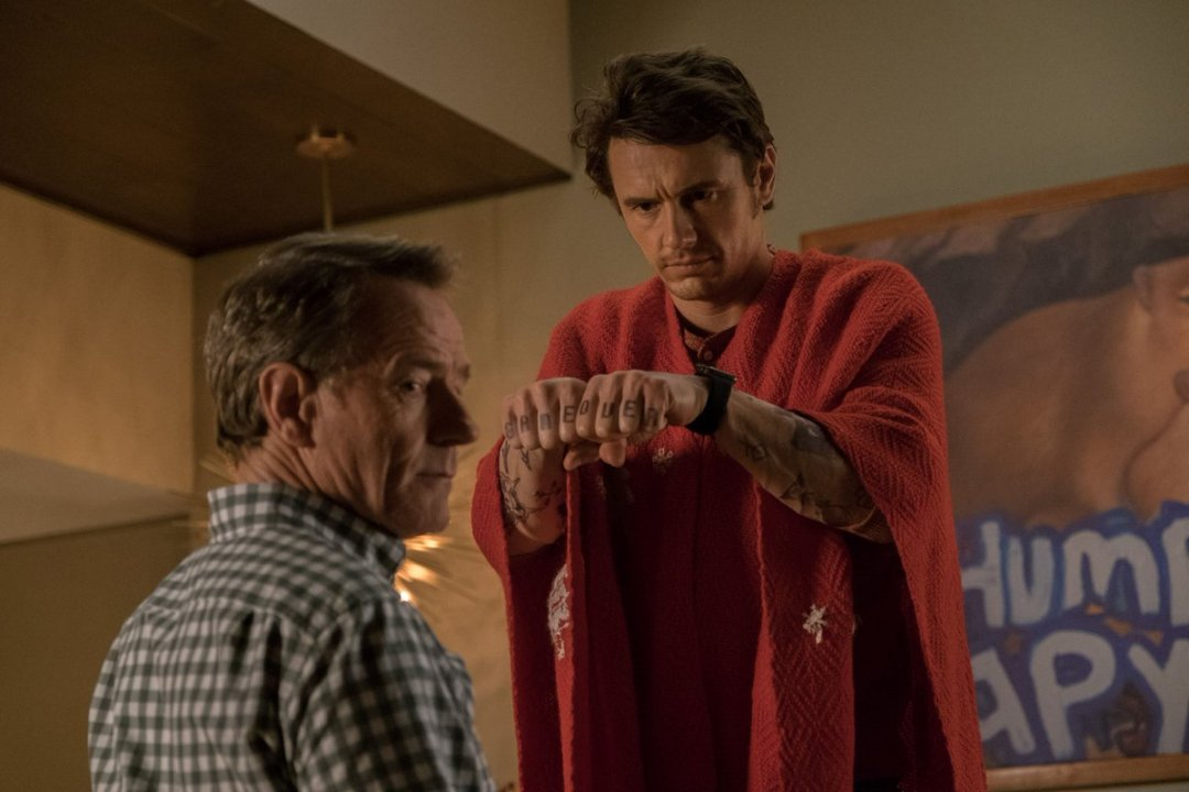Why Him? photo with James Franco, Bryan Cranston