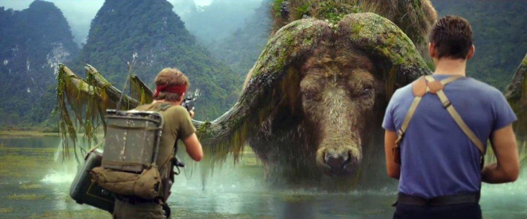 Kong: Skull Island photo with Tom Hiddleston