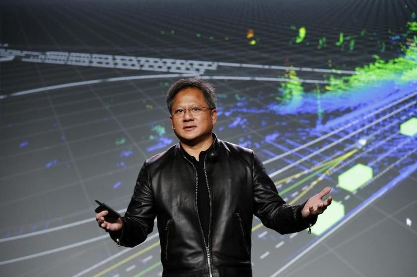 Nvidia CEO Jen-Hsun Huang has robots to thank for his rapidly growing riches