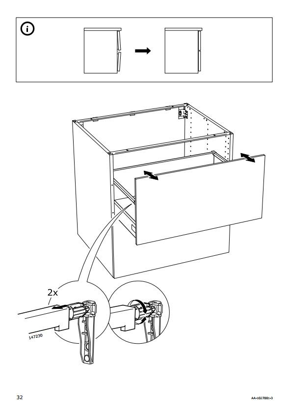 Adjusting Ikea Drawers : adjusting, drawers, Canada, Support, Twitter:,