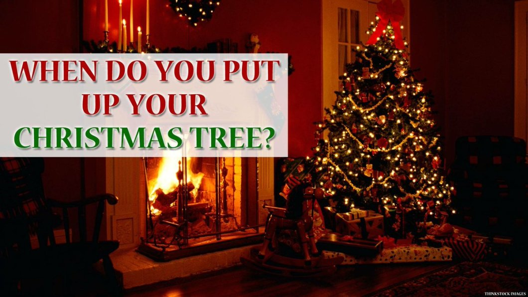 What date do you put up christmas decorations www for How did the christmas tree come about