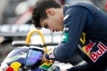 Macau Grand Prix Podium Finisher Sergio Sette Camara