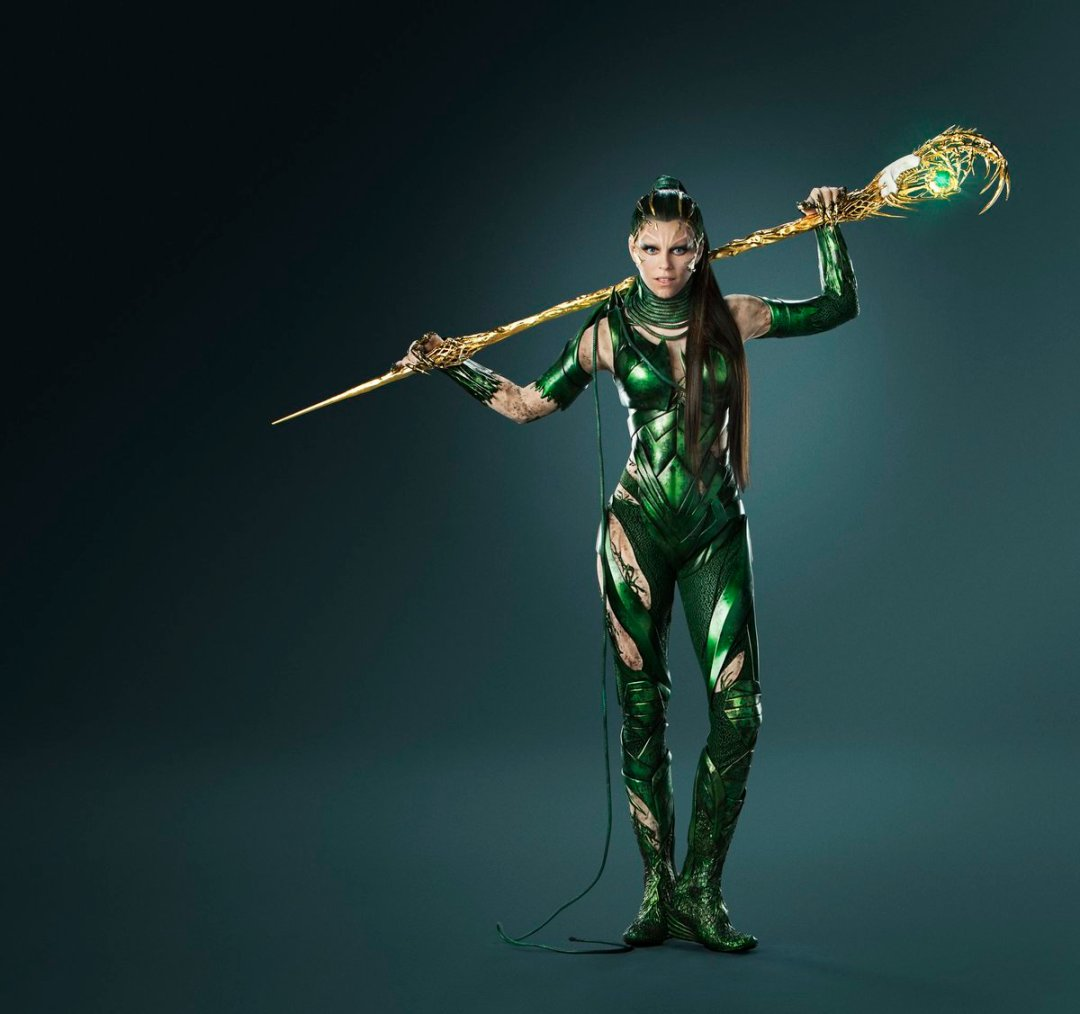 After Eons Locked Away…She's Free! Here's New Rita Repulsa Photos From Power Rangers