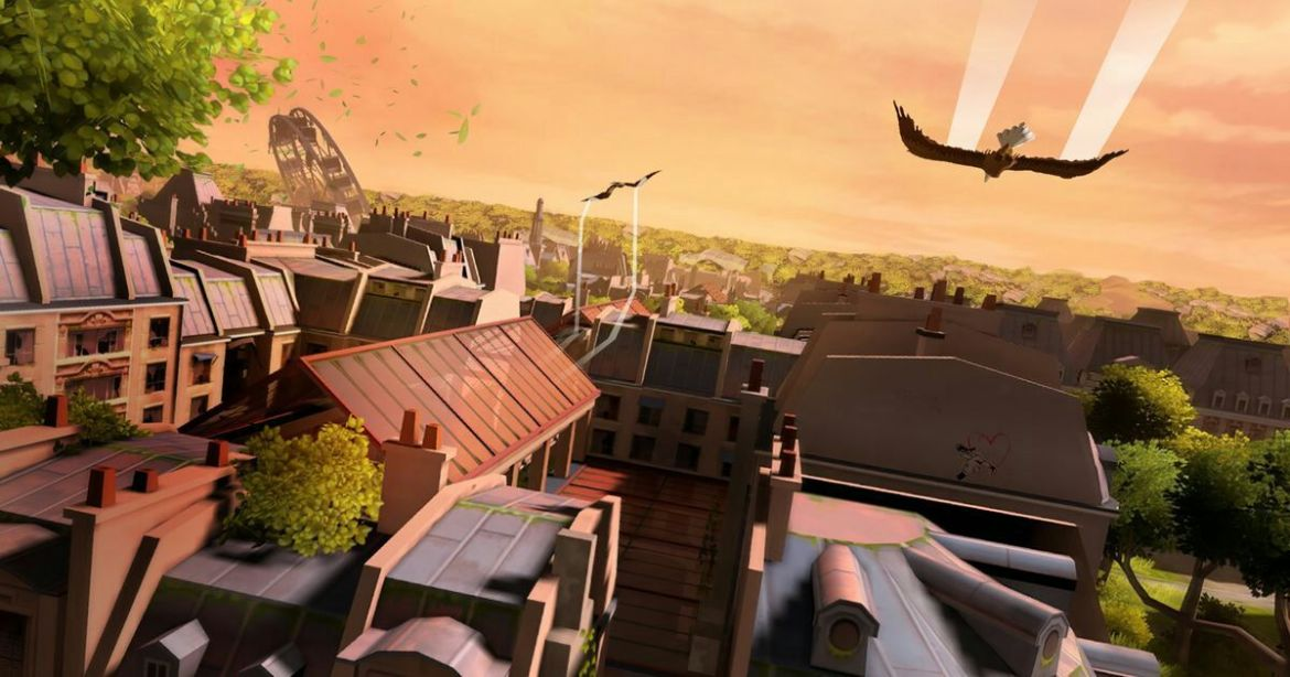 Fly over Paris with all your #VR friends in 'Eagle Flight'