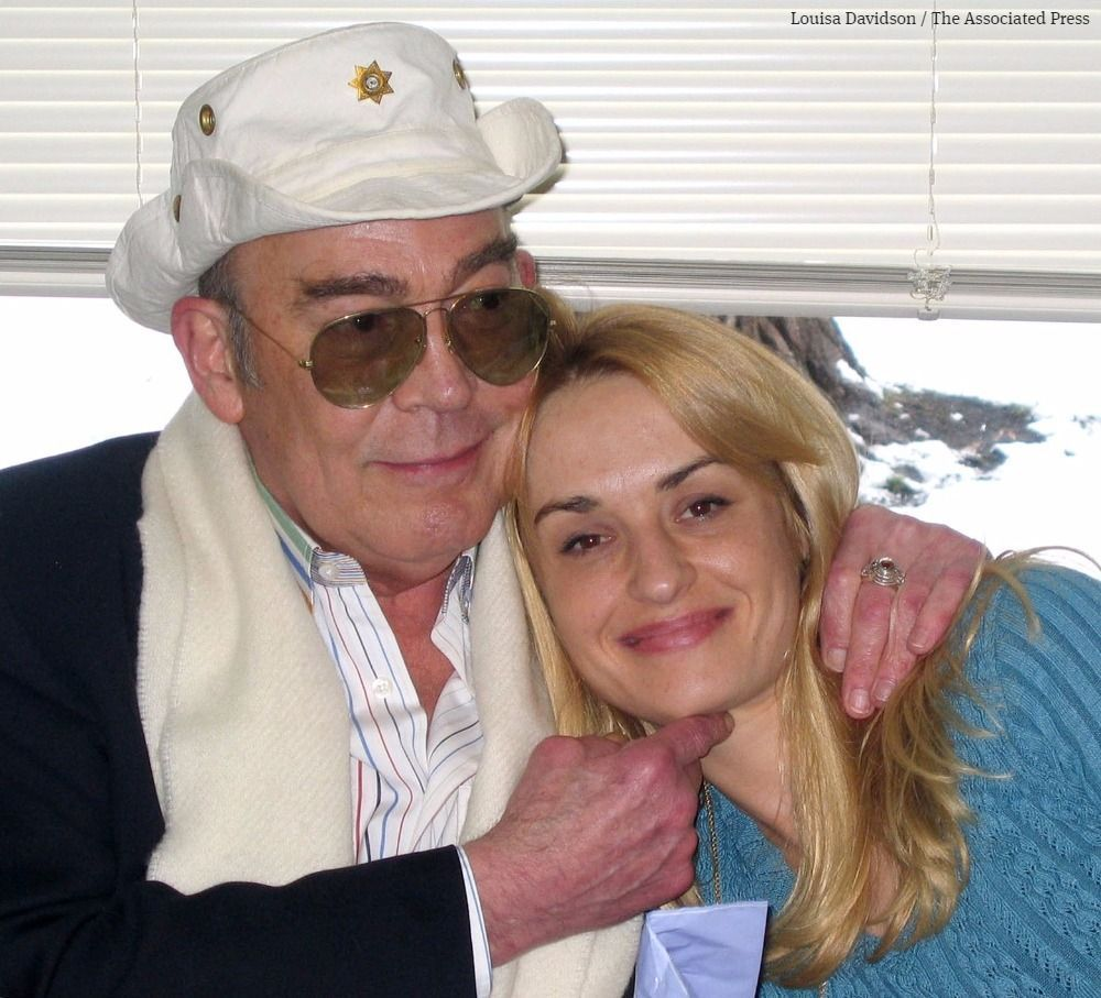 Hunter S. Thompson's widow aims to clone pot strains he smoked: