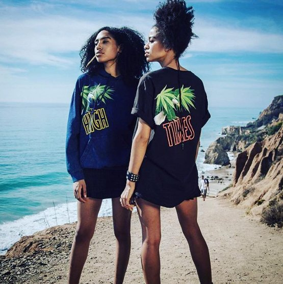 The shift has happened. The goddess #marijuana will lead 🌍🌊Get into it at  @shophightimes