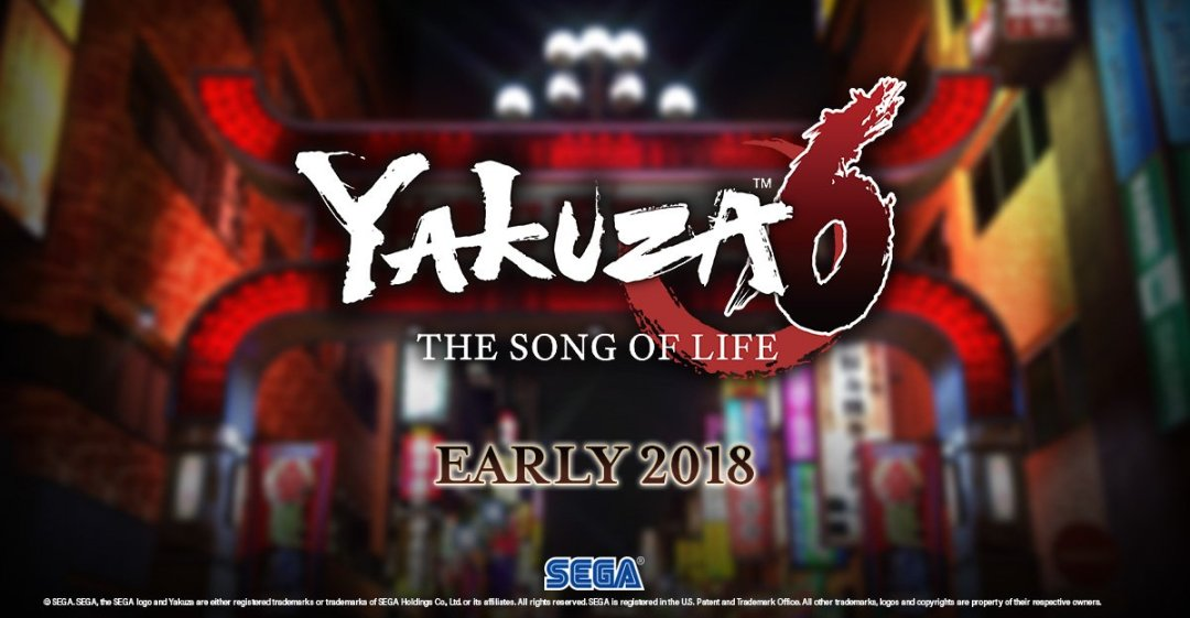 Yakuza 6 Coming To The West In 2018