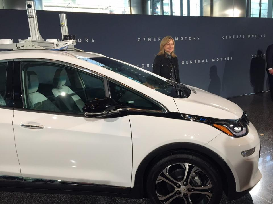 GM will test self-driving cars on Michigan's snowy roads