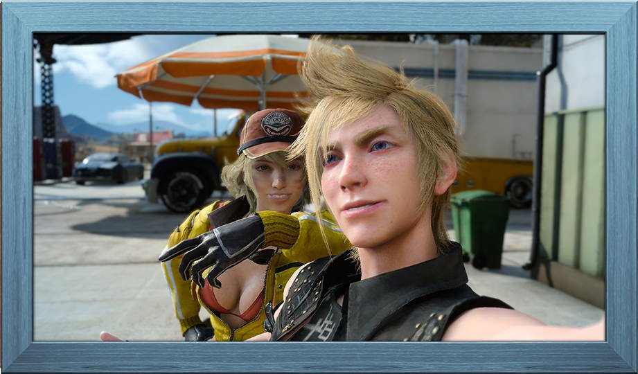 Final Fantasy XV Photo Frames