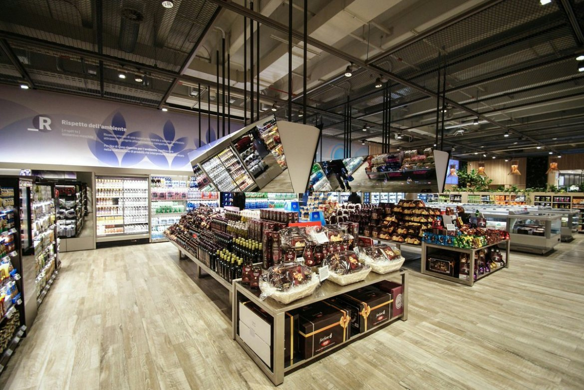 💡Augmented Reality Supermarket Opens In Milan, Italy👔 #VR #AR #IoT #Fintech💳
