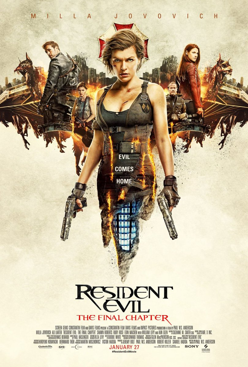 New Resident Evil: The Final Chapter Poster Revealed