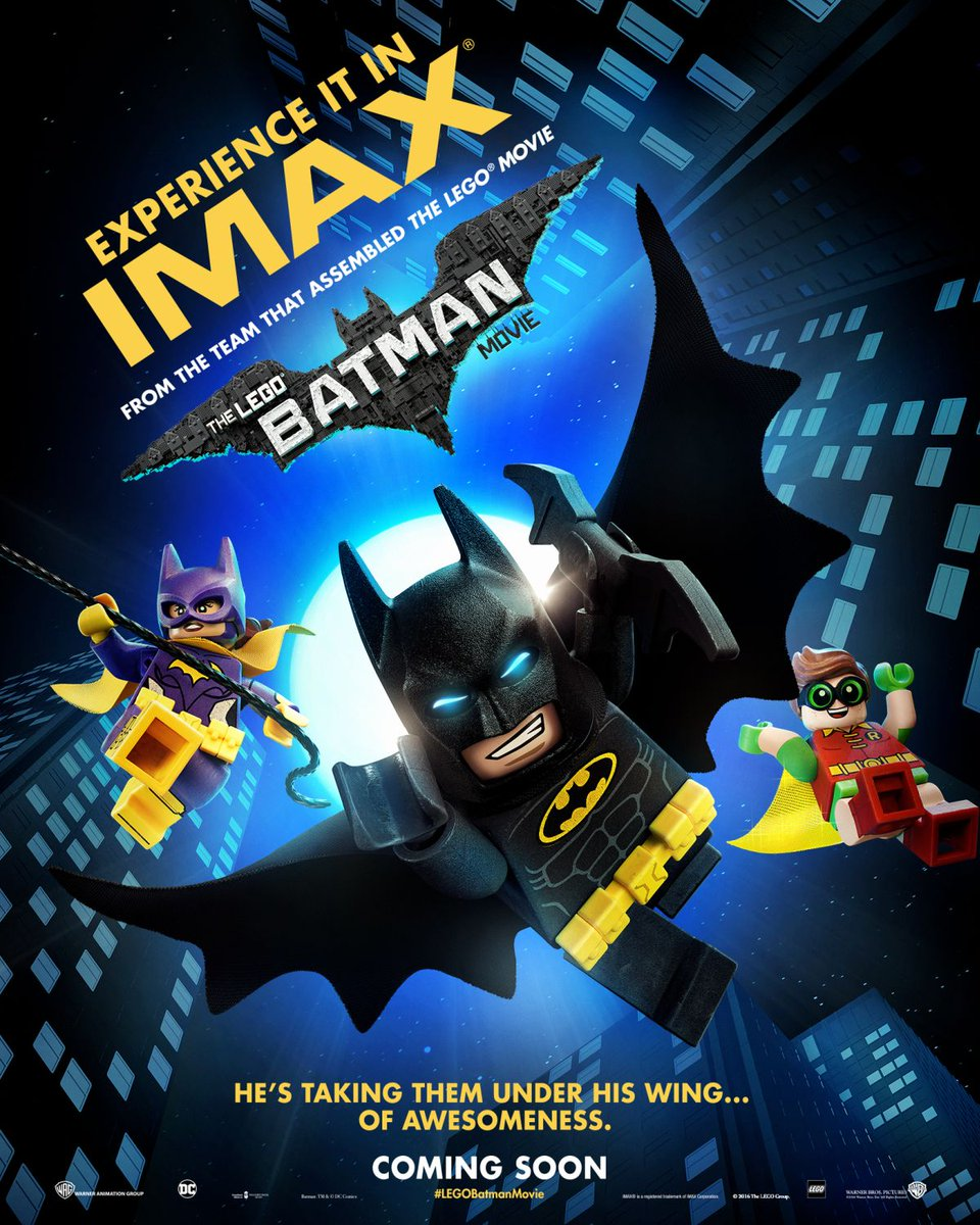 The Lego Batman Movie IMAX Poster Revealed
