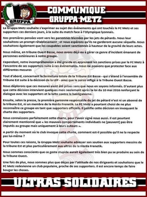 « Un tournant » | Football Club de Metz - Infos FC Metz