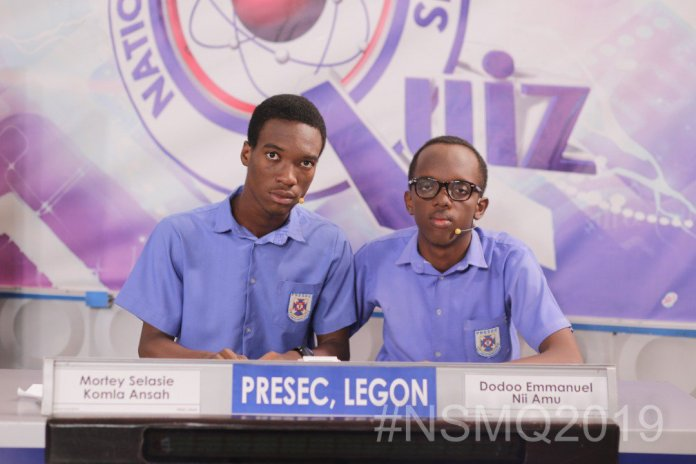 NSMQ2019: ''BIG BOYS' to face each other for the title on Thursday 3