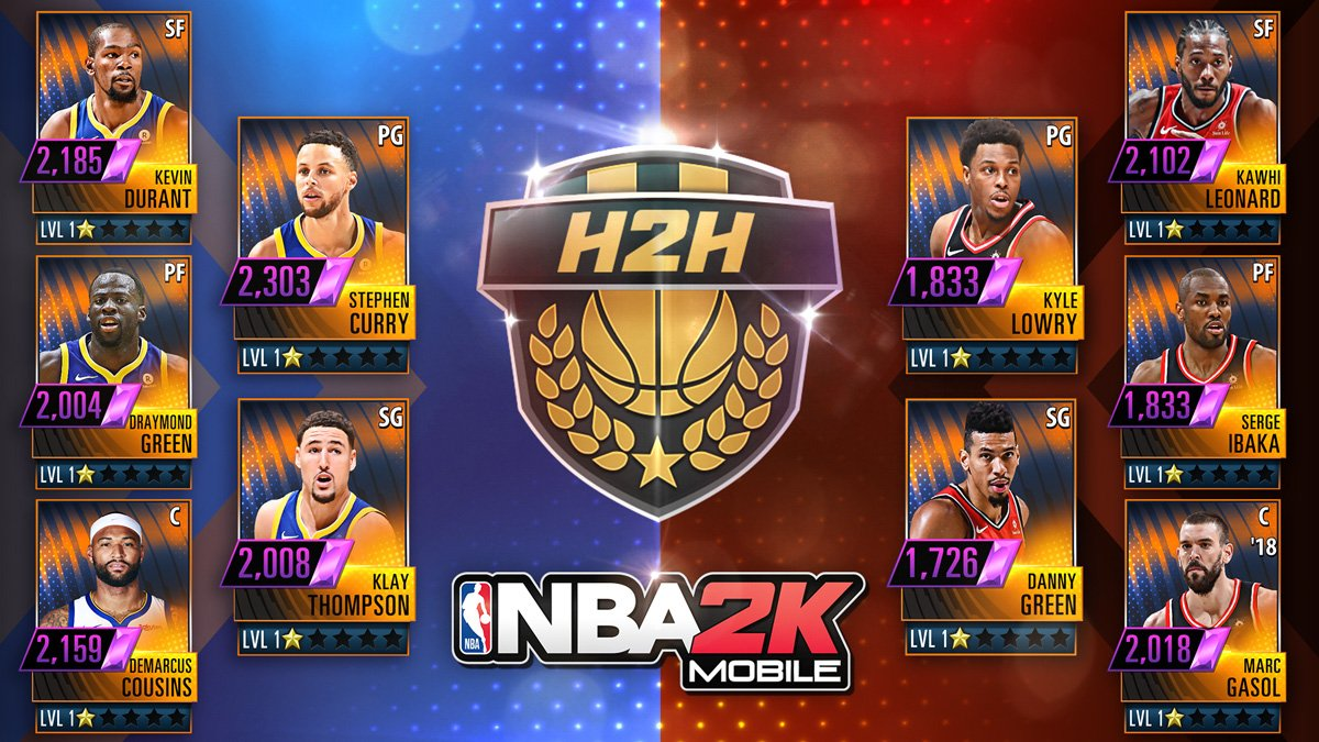 nba 2k mobile on