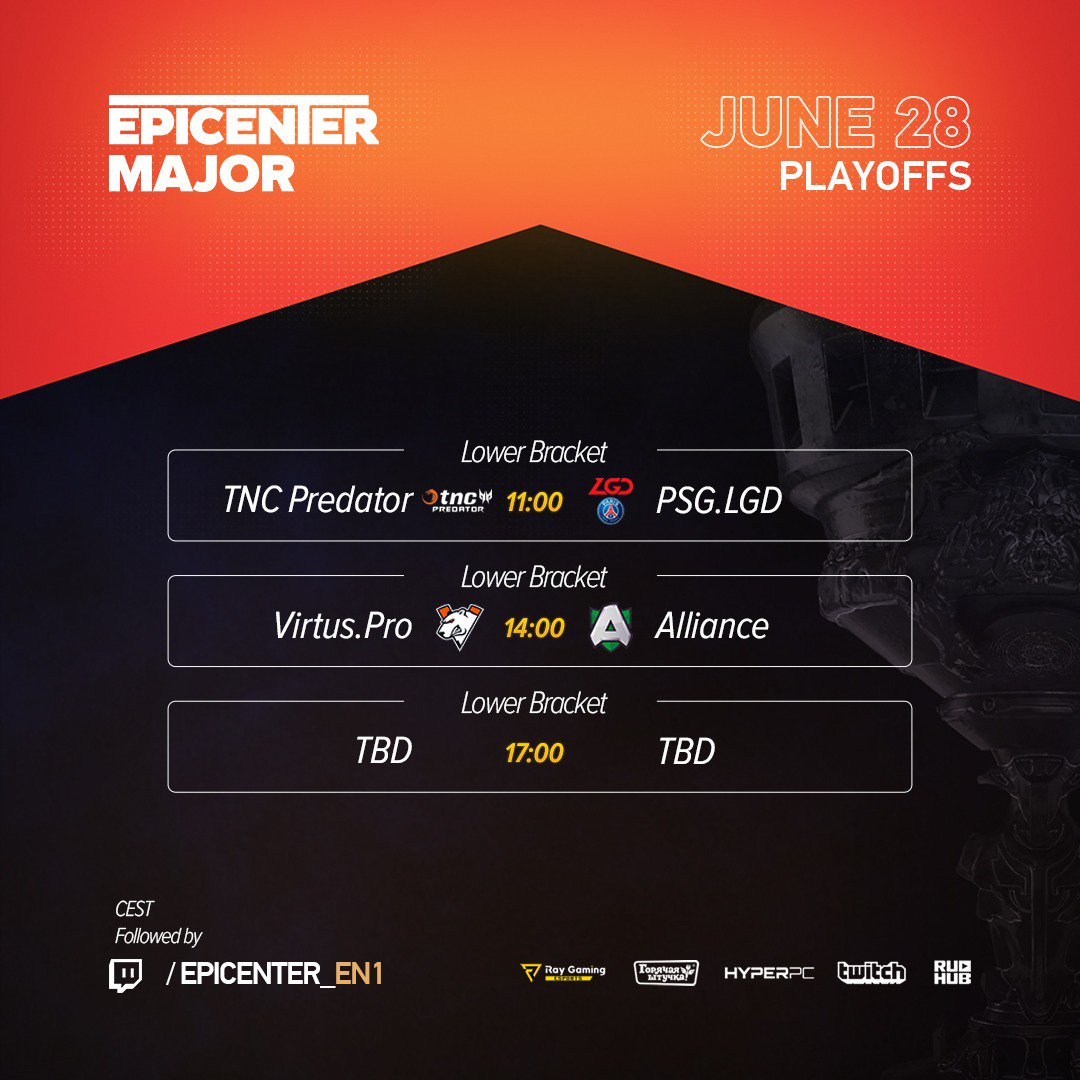 Jadwal EPICENTER Major 2019