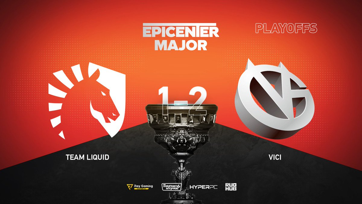 Team Liquid vs Vici Gaming EPICENTER Major 2019