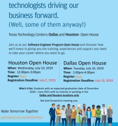 the flyer says software engineer but it s open to any related major  [ 845 x 1200 Pixel ]