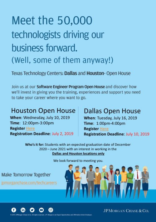 small resolution of the flyer says software engineer but it s open to any related major