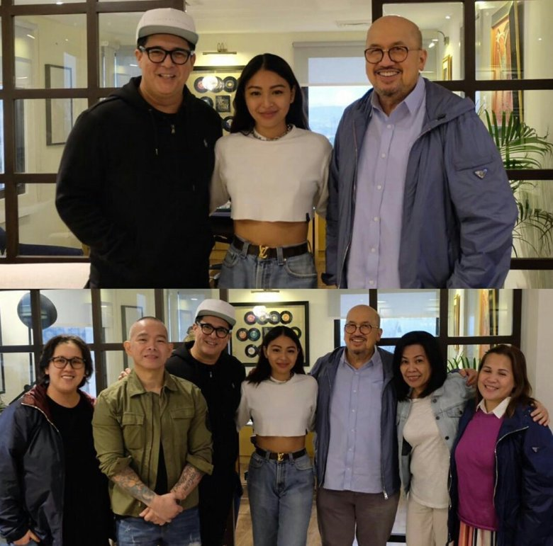 Image result for aga muhlach and nadine lustre