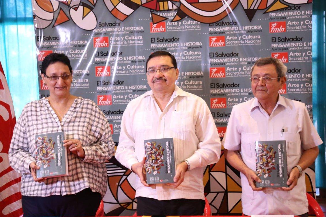 """Libro """"Pensamiento e Historia"""" invita a repensar a la izquierda de El Salvador-VerdadDigital.com-"""
