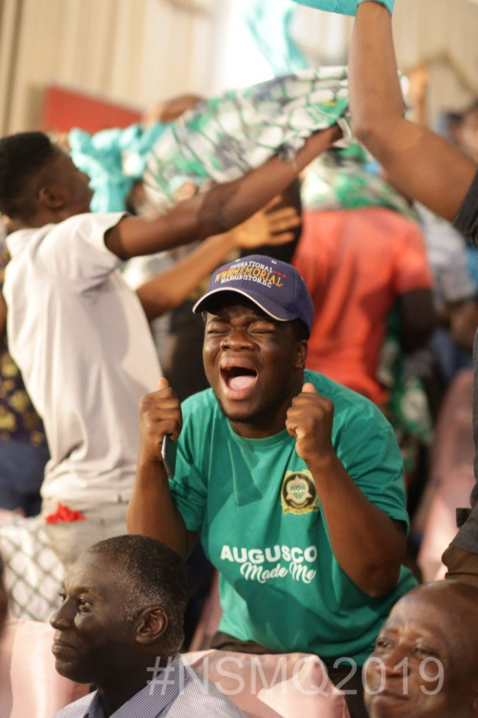 2019NSMQ: AUGUSCO 'walks over' Tamale SHS and Boa Amponsem SHS to book a ticket to the Semis 2