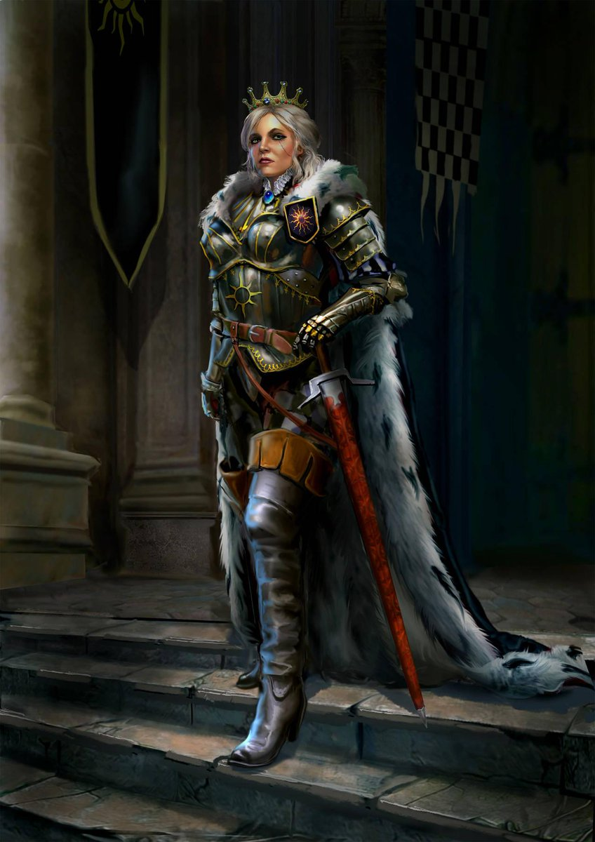 Ciri Witcher Or Empress : witcher, empress, Witcher, Twitter:,