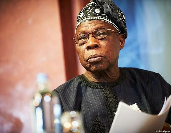 D05LeGBXQAEE7uB - Nigerians Take To Social Media To Eulogize Obasanjo At 82