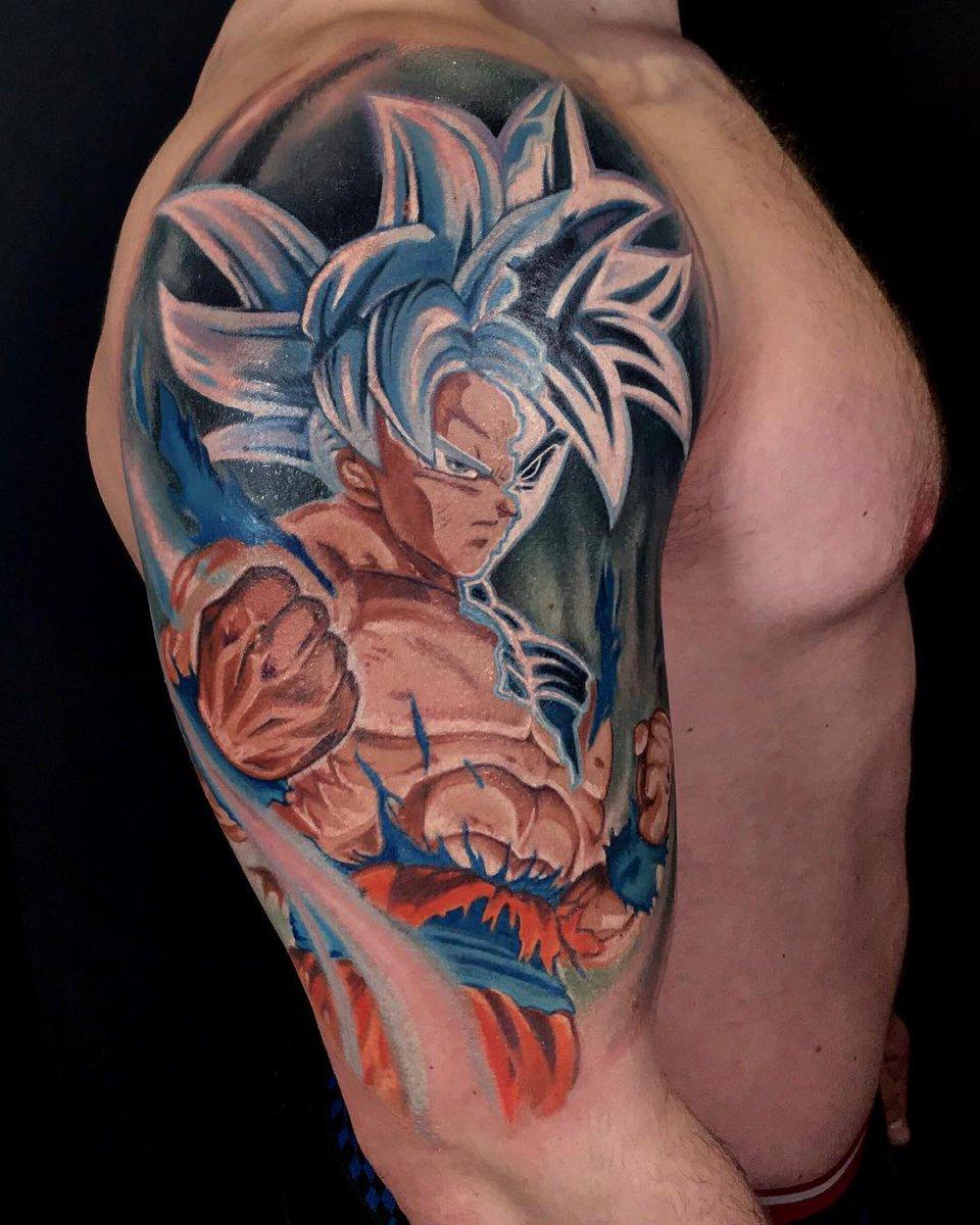 Goku Ultra Instinct Tattoo : ultra, instinct, tattoo, Killer, Tattoo, Twitter:,