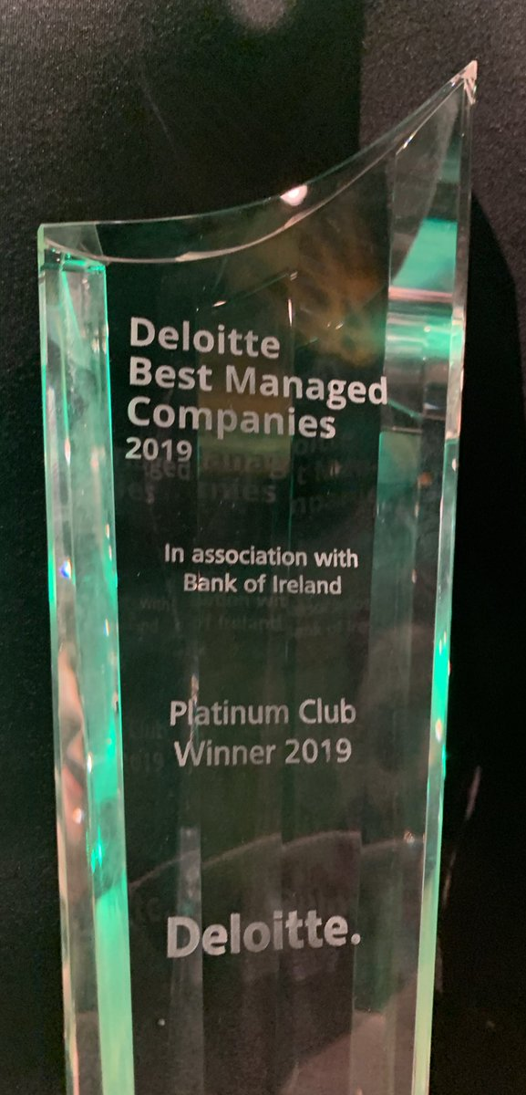 test Twitter Media - Swapping the steel toes for stilettos & suits tonight & celebrating in the CCD tonight on our Platinum Club Award @DeloitteIreland #BestManaged 💪🏼 https://t.co/GwveiIRAds